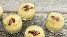Mousse van witte chocolade | VTM Koken
