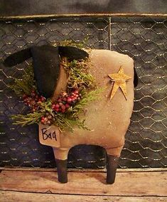 Little sheep decor