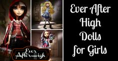 Ever After High Dolls are very popular now. The fact that they are suppose to be the children of our favorite fairytales just makes them even more desirable.