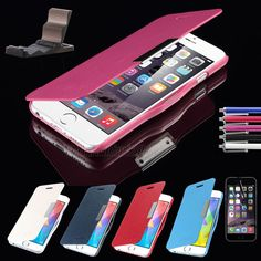 For Apple iPhone 6/6 Plus 5.5'' Ultra Thin Magnetic Flip Leather Hard Case Cover #Pandamimi