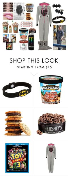 """Toy Story Marathon/Lazy Day with Liam"" by carry-bryles ❤ liked on Polyvore featuring Hershey's and UGG Australia"