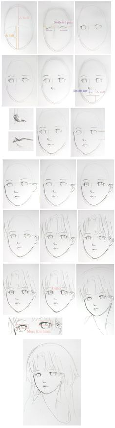 #Drawing | #Anime | #Manga | #Tutorial | #Face