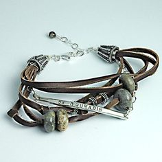 Handmade Jewelry Medical Alert Bracelet....hmmmm this one is cute!! I can't believe I STILL don't have one!