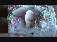 Wild Orchid Crafts  - Shabbychic box