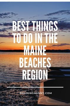 The Maine Beaches Region located in Southern Maine is home to great people, beautiful views, and plenty of adventure. #maine #mainebeaches #coastalmaine #visitmaine #southernmaine Stuff To Do, Things To Do, Maine Beaches, Travel Usa, Travel Maine, Travel Tips, Canada Travel, Budget Travel, Travel Guides