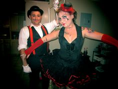 Marionette and Puppet Master Halloween Couple Costume