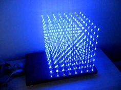 Cool LED cube, check out video for interactive patterns created. A tutorial by Instructables is behind the link!