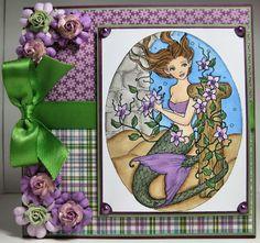 Sweet Pea Stamps: Atlantis Bower Mermaid