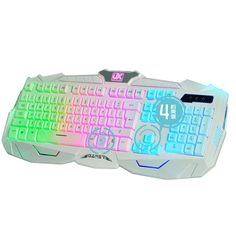 48.99$  Buy now - http://aliuw6.worldwells.pw/go.php?t=32740542585 - Colorful Wired Gaming Keyboards USB LED Backlit Keyboard for Laptop Computer Game Backlight Key Board Computer Accessories