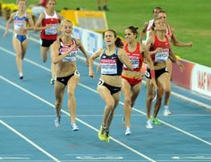 Jenny Barringer Simpson, winning the 2011 world championship 1500m in Deagu.