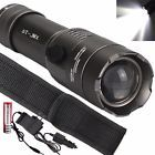 Tactical 5000LM XML T6 LED Flashlight Torch Lamp  18650 Battery  Charger US12