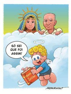 Mauricio de Sousa faz homenagem a Ariano Suassuna (Foto: Divulgação/Mauricio de Sousa)