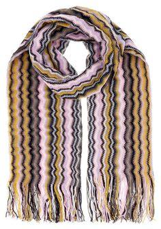 Missoni D4909 Wool Blend Crochet Knit Wave Scarf Missoni, Wool Blend, Knitting, Crochet, Wave, Fashion, Moda, Tricot, Fashion Styles