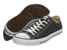 A pair of leather Converse. A pair of regular black is something I need, but I just want a leather pair one day.