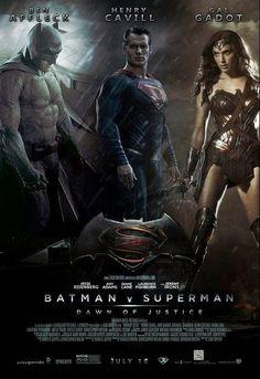 BatMan vs. SuperMan: Dawn of Justice poster http://www.actionsecomics.net/2014/07/primeiro-teaser-de-batman-v-superman-e.html
