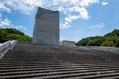 Osaka Pref. Chikatsu-Asuka Museum (大阪府立近つ飛鳥博物館). /  Architect : Tadao Ando (設計:安藤忠雄建築研究所).