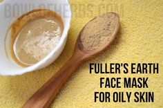 Fuller's earth face mask for clearing acne – Bowl of Herbs