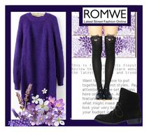 """Romwe 4"" by mersida-1 ❤ liked on Polyvore"