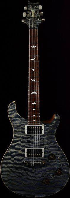 Wild West Guitars : PRS Private Stock #3789 P22 Triple Faded Indigo