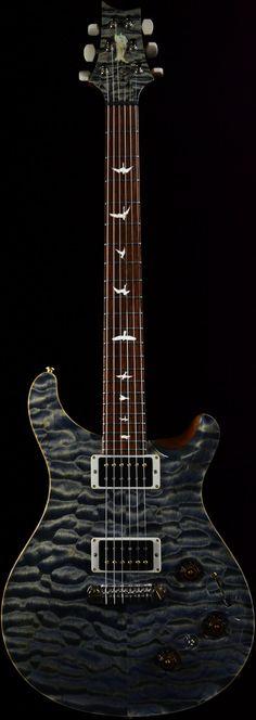 Wild West Guitars : PRS Private Stock #3789 P22 Triple Faded Indigo