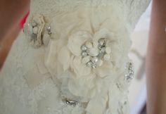 This was my wedding belt!   Enzoani wedding belt/sash so pretty!