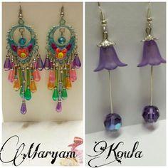 Earrings design Maryam