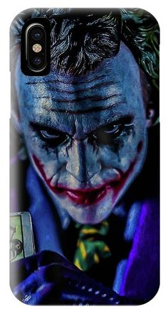 Calling Card IPhone Case for Sale by Jeremy Guerin Heath Ledger Joker, Joker Card, Mark Hamill, Calling Cards, Business Casual Outfits, Tag Art, Colorful Backgrounds, The Darkest, Iphone Cases