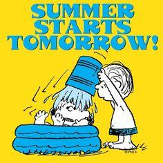 Summer starts tomorrow!