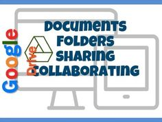 • When you create a Doc, Sheet, Slide, Drawing or Form, it is saved to your My Drive • You can move these documents into Folders to help organize your files • Folders help organize files so that they can quickly be retrieved at a later date • Sharing work and Collaborating on group projects are two helpful features of Google Drive
