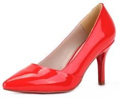 Honeystore Women's Pointed Toe Stiletto Heel Patent Leather Pump Red 5.5 B(M) US Honeystore,http://www.amazon.com/dp/B00EM7TCNI/ref=cm_sw_r_pi_dp_VD-zsb1FCD9Y0F6Q