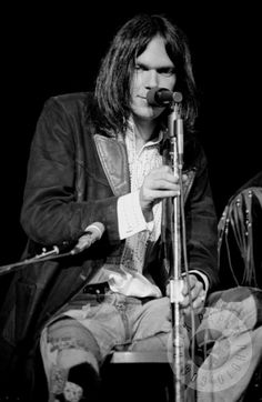 Neil Young, Detroit 1970 by Thomas Copi www.RockPaperPhoto.com