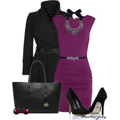 """""""radiant orchid"""" by sanchez-gaby on Polyvore"""