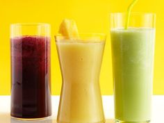 50 smoothie recipes from Food Network Magazine.