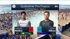Quiksilver Pro France: Quarterfinals, Heat 3