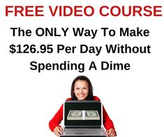 FREE Video Course Exposes How One Newbie Earned $23,197 in less than 24 Hours   #howtomakemoney #makethatmoney #workathome #workfromhome #homebusiness #internetmarketing #onlinejobs #coronawirus #lockdown #stayhome #pandemic #quaratine #facemask #ppe #KN95 #N95 #Covid19 #stayathome Online Cash, Online Jobs, Make Money Online, How To Make Money, Internet Marketing Course, Online Marketing, Free Courses, Home Based Business, The Only Way