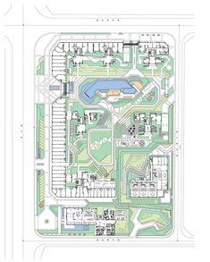Landscape Design Plans, Landscape Architecture, Presentation Techniques, Park Resorts, Design Language, Smart City, Master Plan, Urban Planning, Presentation Design