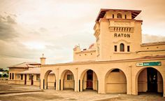 I would love to visit Raton, NM again for all the natural and architectural beauty in the small town.