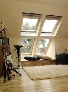 8 Abundant Clever Tips: Farmhouse Attic Bedroom finished attic game room.Attic Roof Built Ins attic remodel roof.Attic Home Apartment Therapy. Small Attic Room, Small Attics, Attic Rooms, Attic Spaces, Attic Playroom, Attic House, Attic Floor, Bedroom Small, Small Spaces