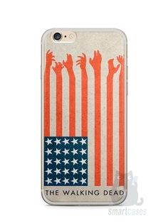 Capa Iphone 6/S Plus The Walking Dead #2