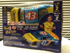 Revell John Andretti CHEERIOS Dodge NASCAR Petty  43 Pro Finish 1/25th Model Kit #RevellMonogram