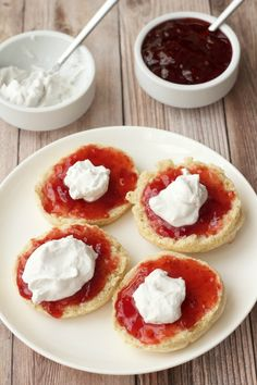 Must-Try Vegan Scones with Jam and Whipped Cream - Loving It Vegan