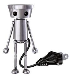 I don't know what this robot guy does, but it's very cute.