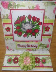 Penny Black birthday card xx