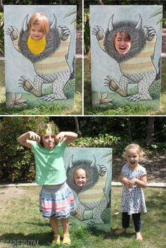 Where the Wild Things Are Party crafts | SugarHero.com