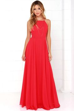 d418c90a8b6 The Mythical Kind of Love Red Maxi Dress is simply irresistible in every  single way!