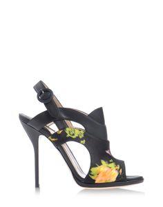 Paul Andrew Artemis Sandal - Floral Sandals | HarpersBazaar