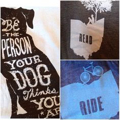 Dog lover bookworm or bike rider mom.  These tees are perfect. #lakewood #girlsbesttrend #mothersdaygifts #mothersday #gbt #cuteshop #madisonave #cutetees #doglover #bookworm by girlsbesttrend