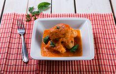 Κοτόπουλο με σάλτσα φρέσκιας τομάτας και βασιλικό Meat, Chicken, Cooking, Food, Kitchen, Essen, Meals, Yemek, Brewing