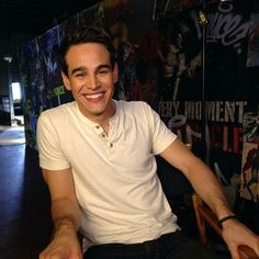 Alberto giving us an adorable smile.