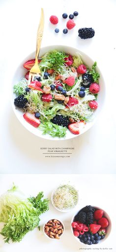 Berry Salad by Le Zoe Musings  Who wouldn't eat this? I'd give everything for one of these at the moment.